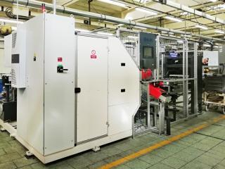 Soustruh kulových čepů  s řídícím systémem SINUMERIK S840DSL NCU 710.2 s PLC317-2DPBAL 95_3